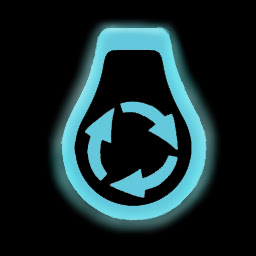 LightRecycler Logo Schwarzer Hintergund hochauflösend